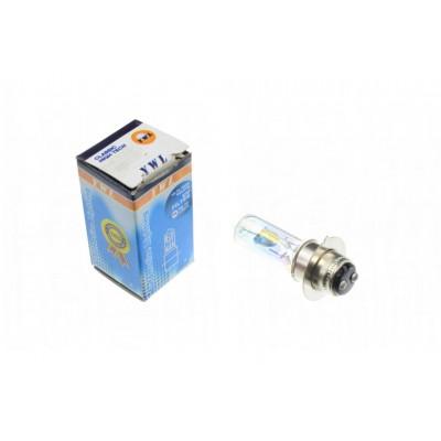 Лампа P15D-25-1 (1 вус) 12V 18W/18W (хамелеон рожевий) YWL
